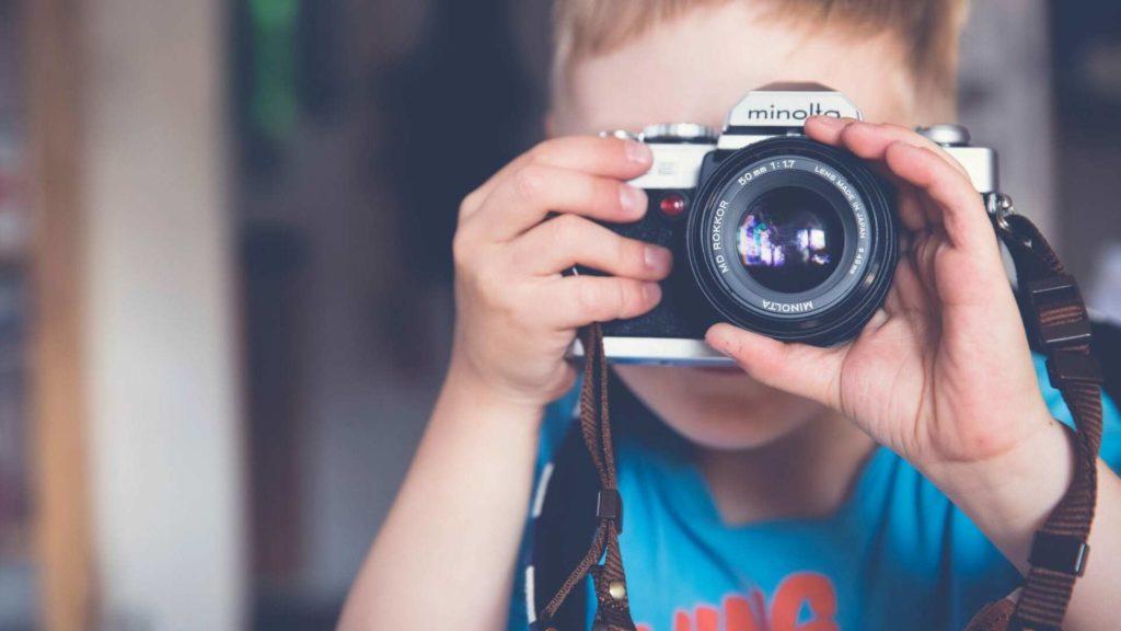 Caractéristiques appareil photo pour débutant