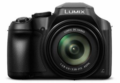 Panasonic Lumix FZ82 vu de face