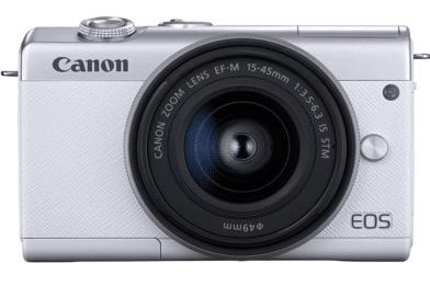 Canon EOS M200 face