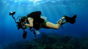 appareil photo pour plongée sous marine
