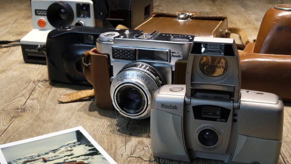 choix appareils photo instantanés