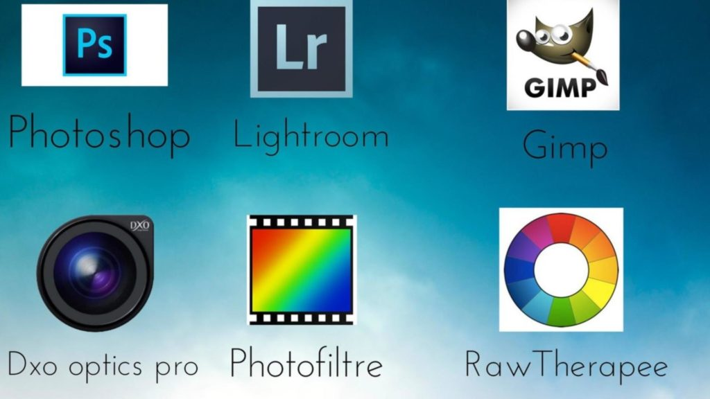 choix logiciel retouche photo