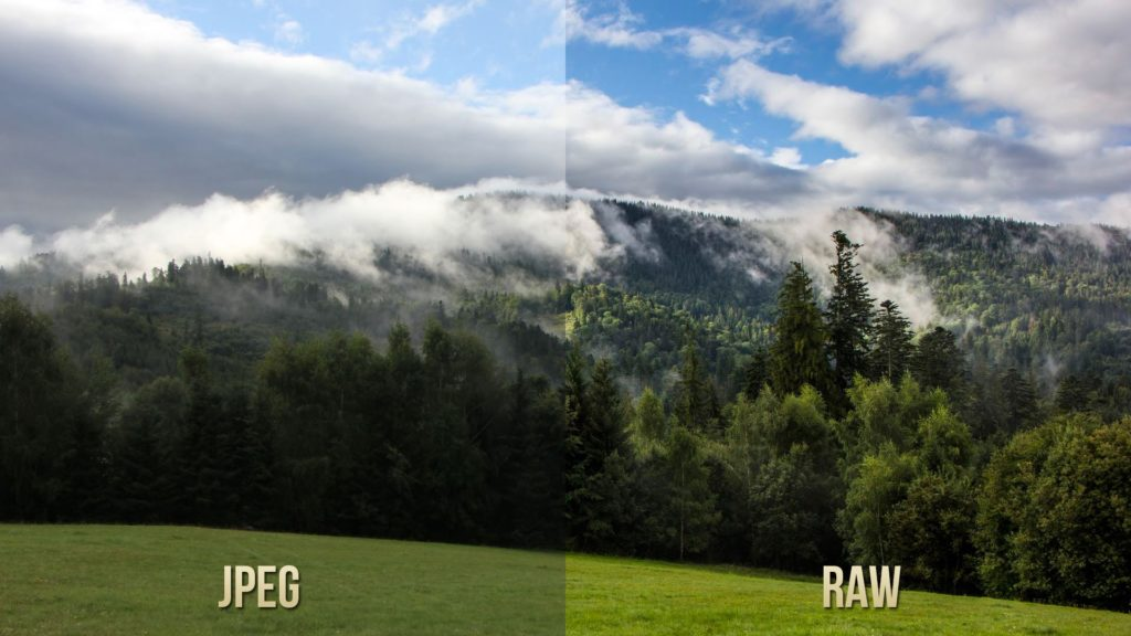 format RAW vs JPEG