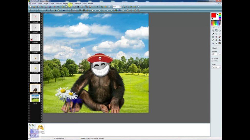 logiciel retouche photo Photofiltre 7