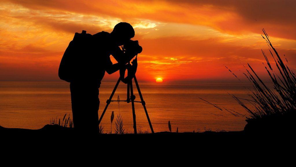 trépied d'appareil photo de voyage