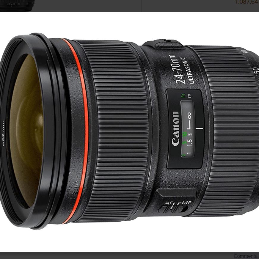 Canon EF 24-70 mm f/2.9L II USM