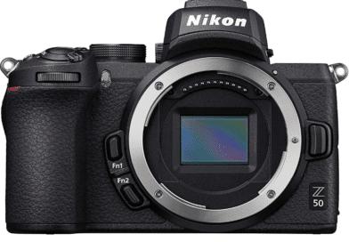 Nikon Z50 face