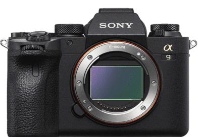 Sony Alpha 9 II face