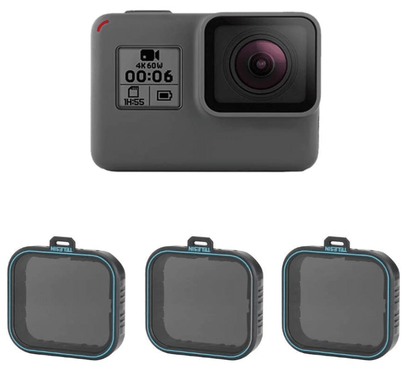 filtres ND pour GoPro