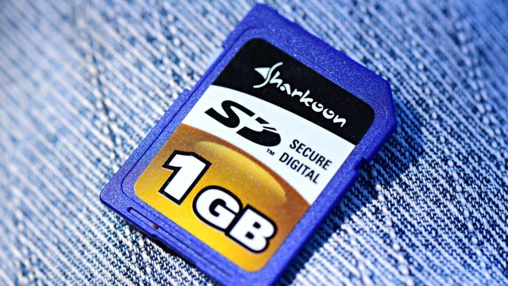 marque carte mémoire pour appareil photo