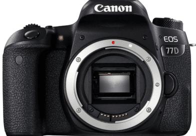 Canon EOS 77D face