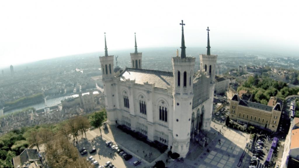 Colline de la Fourvière à Lyon