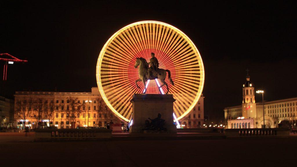 Grande Roue Place Bellecour à Lyon