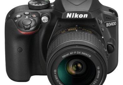 NIkon D3400 face