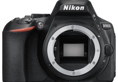Nikon D5600 face
