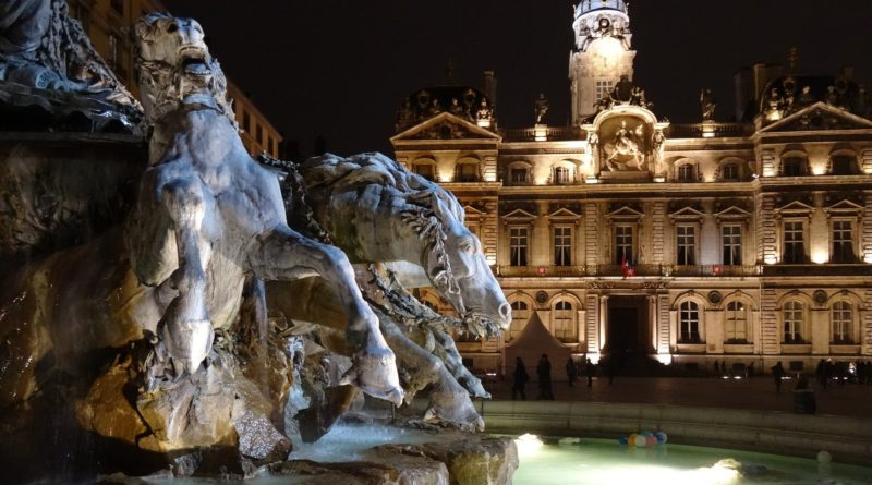 Visiter Lyon - place des terreaux