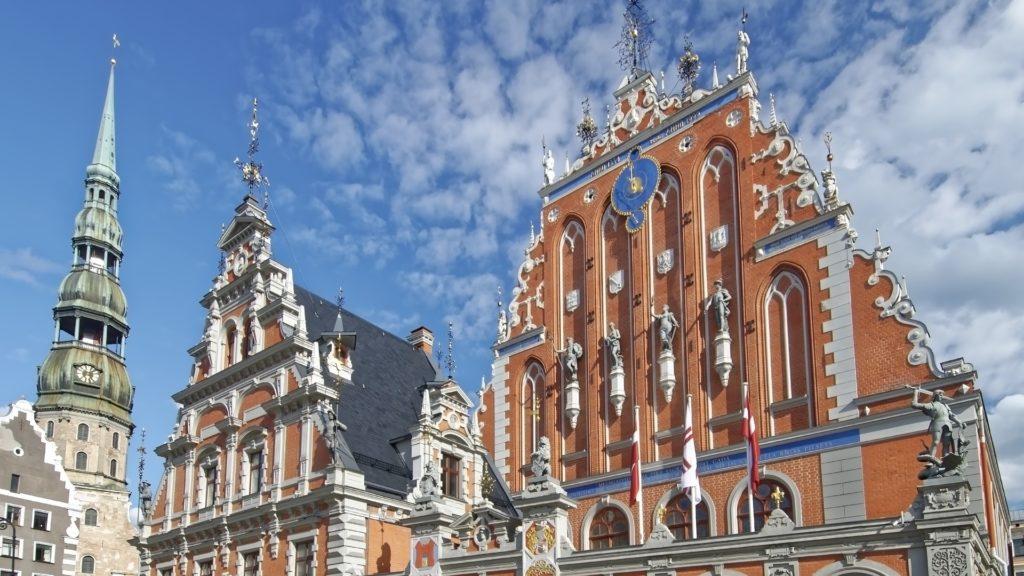 monuments Lettonie Pays Baltes