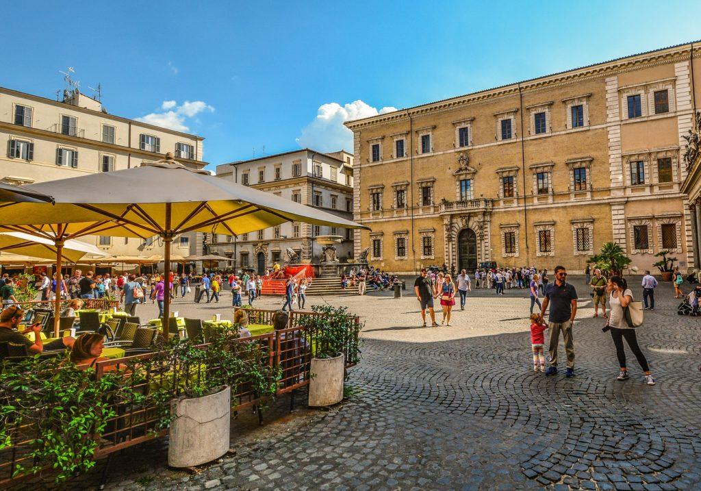 restaurant à Rome