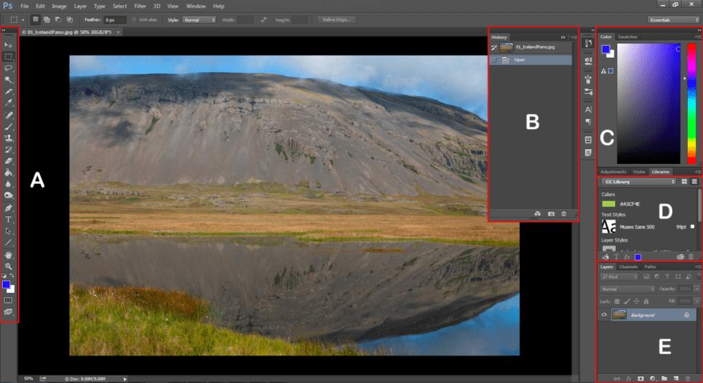 formation Adobe Photoshop pour débutant