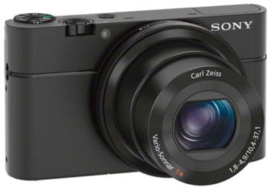 Sony RX100 face