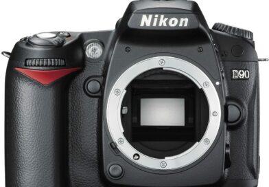 Nikon D90 face