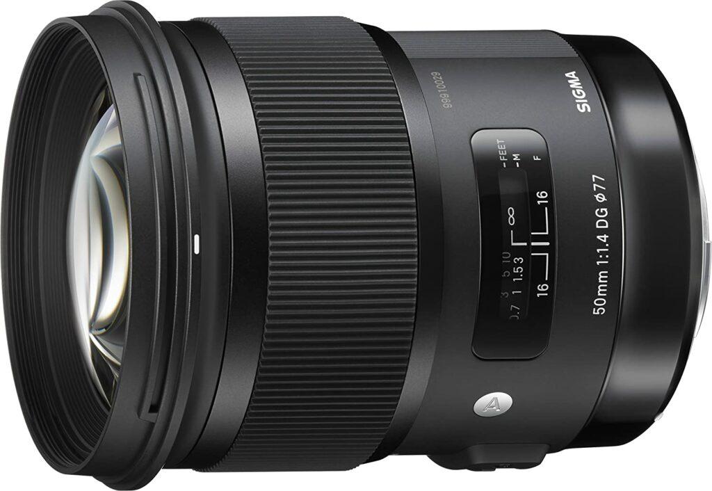 Sigma 50 mm f 1,4 DG HSM A