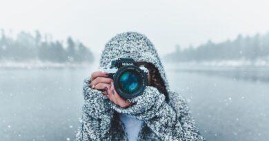 prendre une photo de neige