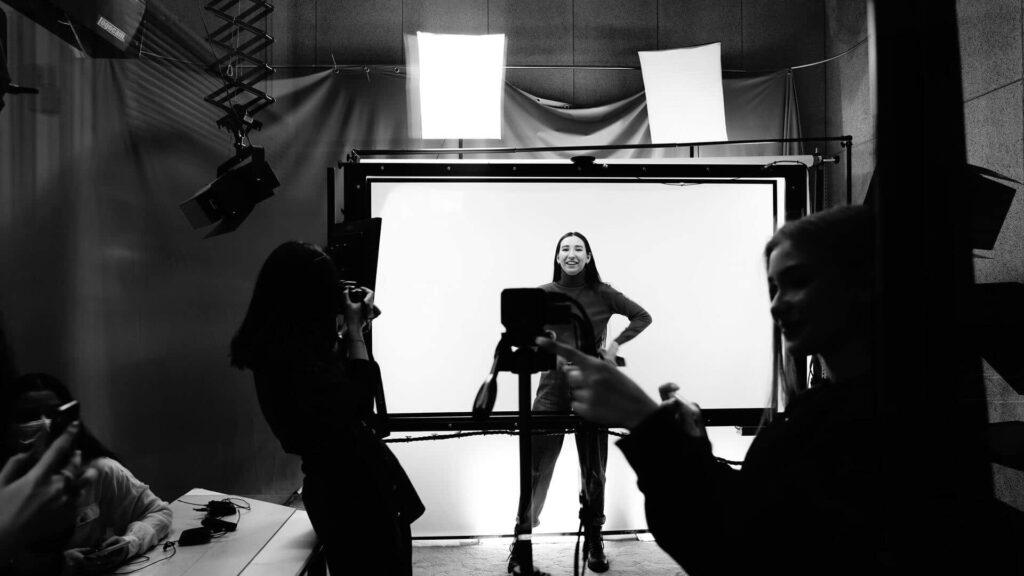 éclairage studio photo