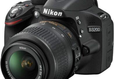 Nikon D3200 face