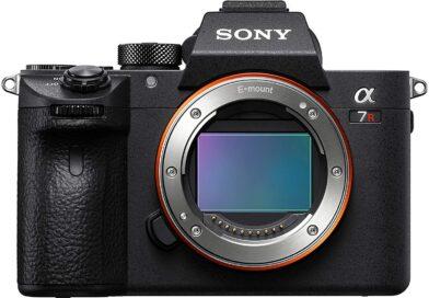 Sony A7R III face
